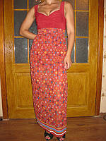 Платье шифоновое в пол 00307, фото 1