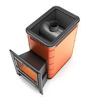Печь-каменка Ангара 18 ТЕРМОФОР дровяная печь для сауны среднего класса
