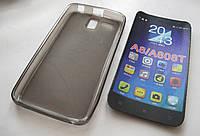 Чехол силиконовый Lenovo Golden Warrior A8 A808T white