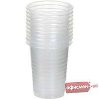 Одноразовый пластиковый стакан BuroClean 1080005, прозрачный, 100мл, 100шт