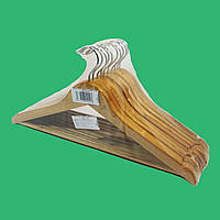 Плечики-вешалки из дерева для одежды