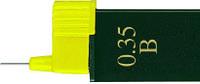 Грифель для механического карандаша 0.3мм HB Super-Polymer 12 шт в пенале