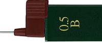 Грифель для механического карандаша 0.5мм B Super-Polymer 12 шт в пенале