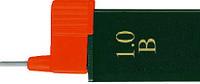 Грифель для механического карандаша 0.9мм B Super-Polymer 12 шт в пенале