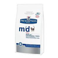 Hill's Feline M/D при сахарном диабете - 1,5кг