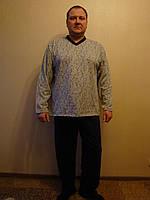 Пижама мужская теплая начесная.