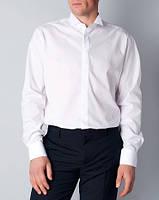 Мужская рубашка белая для смокинга под галстук-бабочку