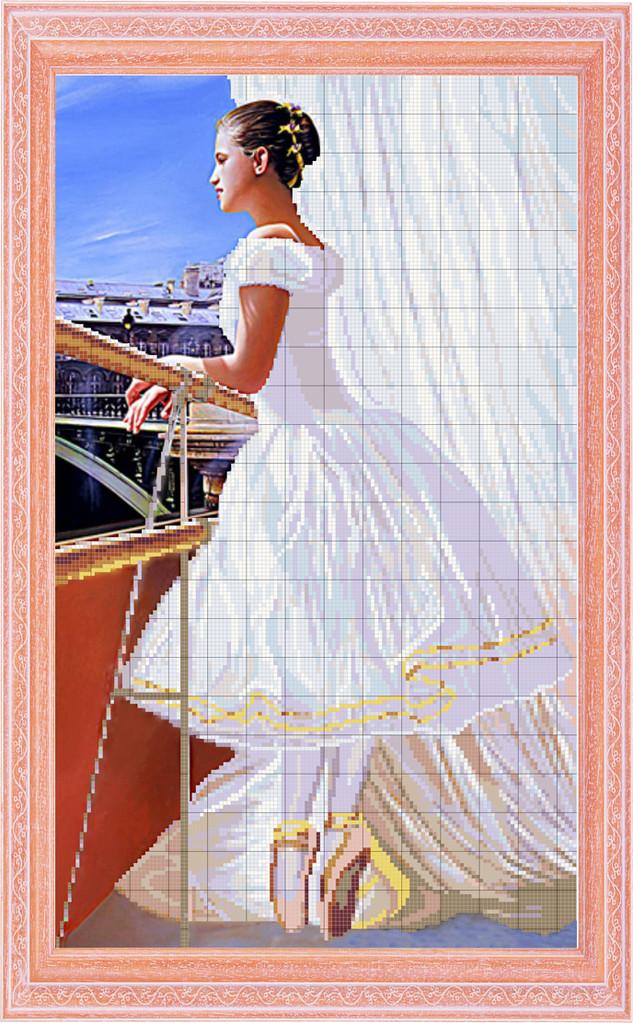ПВ-153/2 Балерина у окна