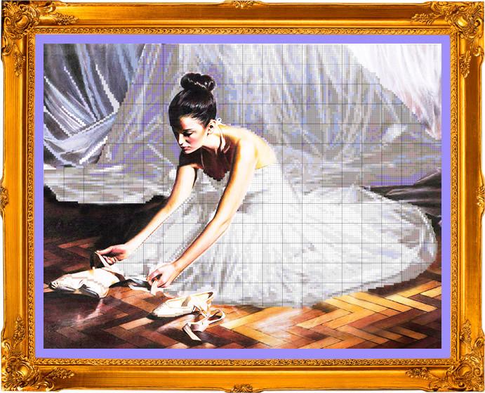 ПВ-151/2 Балерина и пуанты