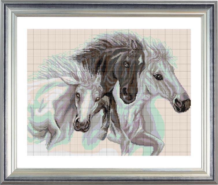 ПВ-253/2 Тройка лошадей (схема