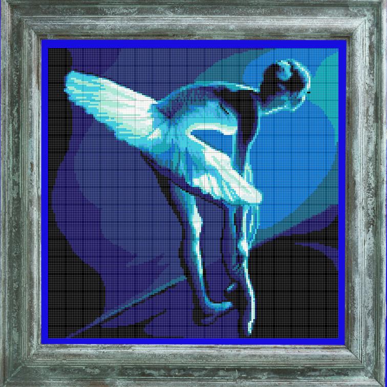 ПВ-218/2 Балерина в синем