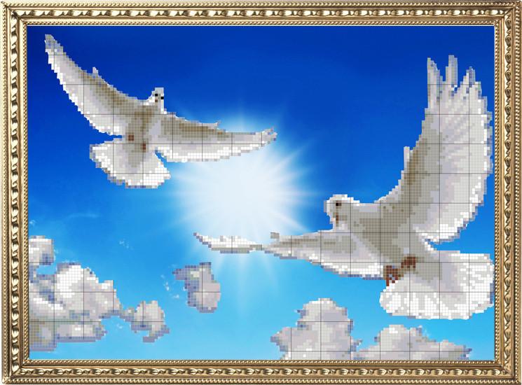НВ-108/3 Полет голубей (схема