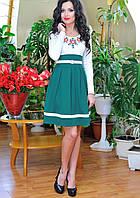 Весенние платья 2015. Веночек изумруд