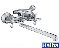 Смеситель для ванны Haiba Dominox-141
