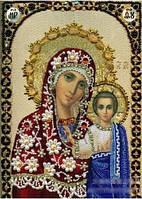 """Алмазная икона живопись """"Казанская Пресвятая Богородица"""""""