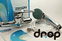 Смеситель для душевой кабины однозахватный Zegor Z65-LOP-B043