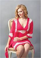 Халат женский Shato - 602/1 (женская одежда для сна, дома и отдыха, домашняя одежда, ночная)