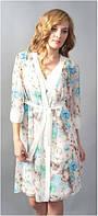 Халат женский Shato - 607/1 (женская одежда для сна, дома и отдыха, домашняя одежда, ночная)