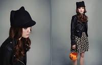 Женская теплая кепка с ушками Zara