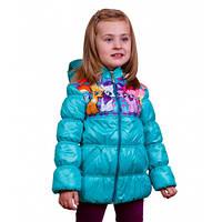 Детская демисезонная куртка для девочки, р. 86-110