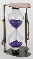 Песочные часы «Сердечко» металл