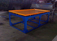 Вибростол для производства тротуарной плитки и заборов 2 м х 1 м (380В), фото 1