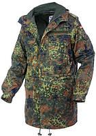 НОВАЯ Куртка парка Gr.8, Gr.10, Gr.13, Gr.15, Gr.16, Gr.19 Бундес ОРИГИНАЛ Германия расцветка FLECKTARN