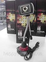 Веб–камера SXt0090 с гибкой стойкой, микрофоном и подсветкой, фото 1