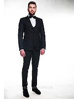 """Приталенный пиджак, костюм """"тройка"""" 2421, фото 1"""