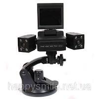 Автомобильный видео-регистратор на две камеры Two Camera Car DVR, фото 1
