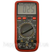 Цифровой мультиметр (синометр) VC61А с функцией измерения температуры