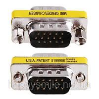 15-контактный VGA (SVGA) переходник (M) - (M), фото 1