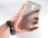 Чехол накладка для Samsung Galaxy S5 ultra thin trans black