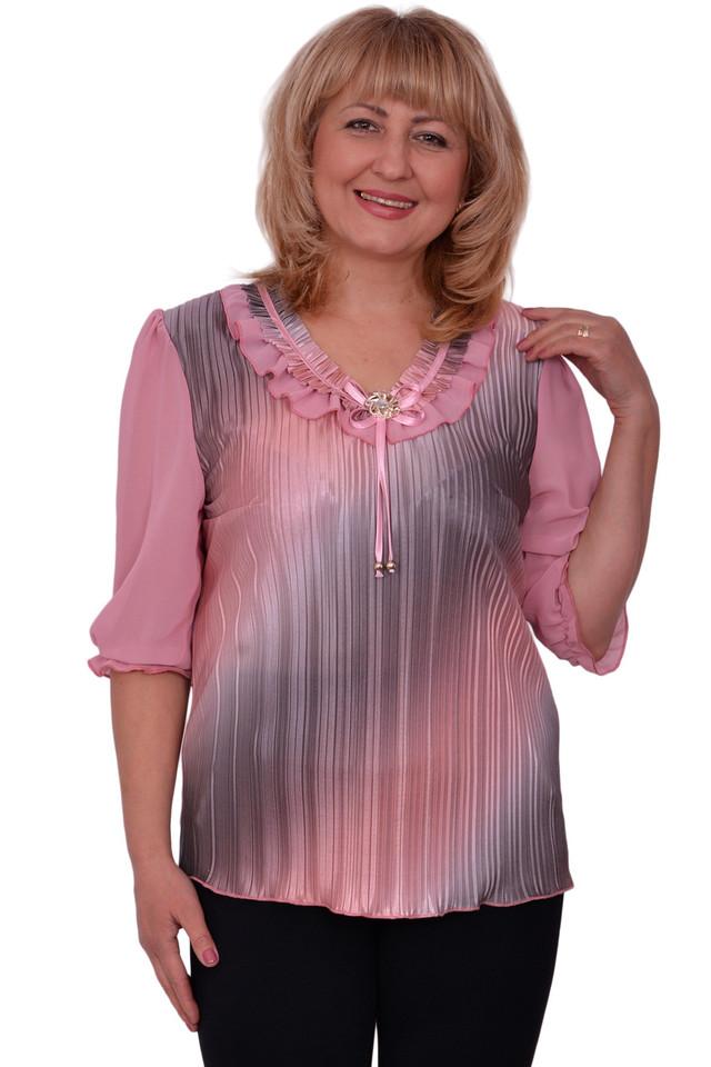 Нарядные блузки больших размеров купить в москве