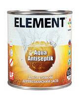 Пропитка декоративная Aqua Antiseptik ELEMENT махагон 10л