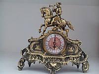 Часы каминные  бронза