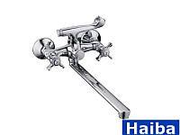Смеситель для ванны Haiba Zeus-140