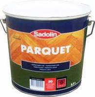 Лак для паркета SADOLIN PARQUET 20 полуматовый 2.5л (Садолин Паркет)
