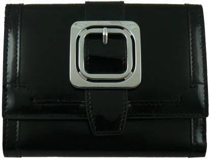 Восхитительный кожаный женский кошелек WANLIMA (ВАНЛИМА) W01047281223 черный