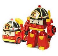 Пожарная машинка-трансформер Рой  Robocar Poli, 10 см (83170)