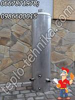 Бак водогрейного титана с резьбой под электрический тен и флянцем для очистки бака от накипи
