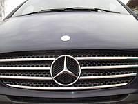 Накладки на решётку Mercedes Vito/Viano W639 (7 частей)