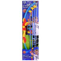 Лук 0347 с лазерным прицелом, стрелы на присосках Limo Toy