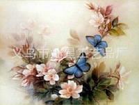 """Набор алмазной вышивки """"Бабочки на цветах"""""""