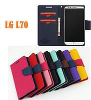 Чехол книжка Mercury для LG L70 D320 D325