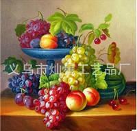 """Набор для рисования стразами """"Натюрморт фрукты"""""""