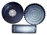 Форма для выпечки  набор 3 шт. (круг,кекс,рулет)(код 03691)