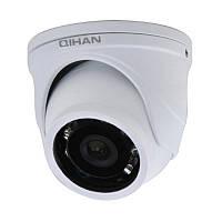 Купольная камера Qihan QH-VD227SNH с ИК подсветкой, 480 ТВЛ