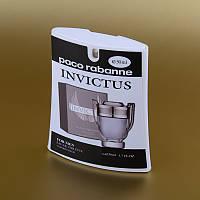 Мужская туалетная вода Invictus Paco Rabanne в кассете 50 ml (трапеция) ASL