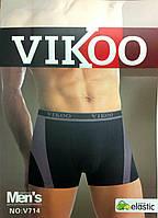 Трусы мужские боксеры х/б Vikoo ТМБ-202